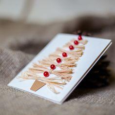 Greeting card with Christmas/Handmade от TanyaLimaHandmade на Etsy