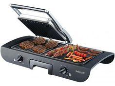 Grill Ello Select Grill EGR200 - Retangular 1500W com as melhores condições você encontra no Magazine Gileo. Confira!