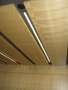 Key Timber Veneer panels, perforated panels and solid panels for the walls and ceilings at St Barnabas church FJMT Architect