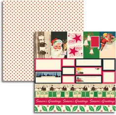 Jenni Bowlin - Christmas 2011 Collection - 12 x 12 Double Sided Paper - Accessory Sheet at Scrapbook.com $0.83