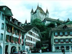 Thun castle in Switzerland. Yes, I checked something off my bucket list: visit a real castle. Thun Switzerland, Switzerland Tourism, Real Castles, Homeland, Photo S, Trip Advisor, Bucket, Street View, Spaces