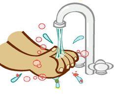 Étapes lavage des mains