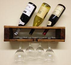 Etsy listing at https://www.etsy.com/listing/192124131/modern-cube-wine-rack-holds-3-bottles-4