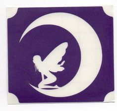 moon fairy Stencils