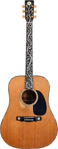 Gram Parsons' 1972 David Russell Young Dreadnought Acoustic Guitar.....