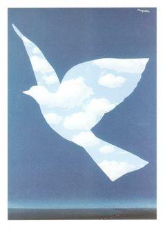 Rene Magritte, Sky Bird, 1966