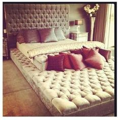 This bed is big!