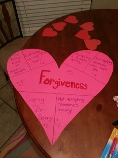 Forgiveness game for kids sunday school. You slide flat stones across the floor n wherever it lands is the amt of points you get Sunday School Teacher, Sunday School Activities, Sunday School Lessons, Sunday School Crafts, Bible Object Lessons, Bible Lessons For Kids, Bible For Kids, Forgiveness Craft, Thanksgiving Activities For Kids
