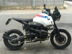 BMW R1100GS Scrambler
