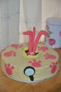 tarta pantera rosa Pink Panthers, Ideas Para Fiestas, Fondant, Favorite Recipes, Cakes, Desserts, Food, Cookies, Pastries