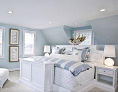 Coastal Decor | Beach Decor | Nautical Decor | Seashell Decor: 30 Beautiful Coastal Beach Bedrooms