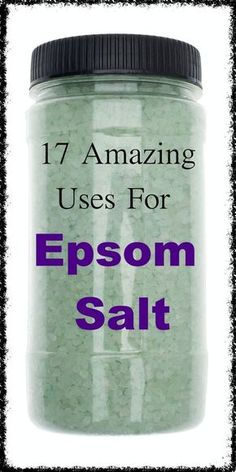 Epsom salt has been used for centuries as a natural remedy for a number of ailments, and also has many beauty, gardening and household uses. Health Clear Skin Health Remedies Health Tips Health For women Health Natural Health Tips Holistic Remedies, Natural Home Remedies, Natural Healing, Herbal Remedies, Health Remedies, Natural Oil, Holistic Healing, Cold Remedies, Health Tips