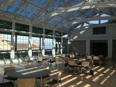 Book your meeting or reception now at Loyola's newest venue, Palm Court. This atrium venue sits on the fourth floor of the Mundelein Center, boasts an abundance of natural light, and includes a wrap around terrace with beautiful views of Lake Michigan.