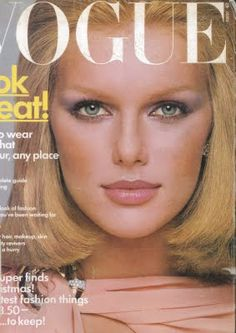 Patti Hanson, photo by Francesco Scavullo, Vogue US, 1975*