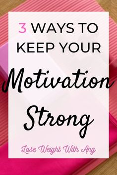 Being inspired to stick to personal goals will never be easy. It's important to find new ways every day to stay motivated. Here's how to stay on track for weight loss and fitness by keeping your willpower strong...click the pin to keep reading! ----- Fitness Inspiration, Goal Setting, How to Strengthen Willpower, Personal Goals, Smart, Staying Motivated
