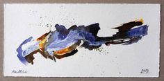 "Saatchi Art Artist Katrin Schwurack; Painting, ""Abendlicht - evening light"" #art"