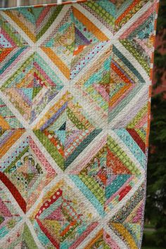 There needs to be a string quilt in my future... maybe made from baby clothes?