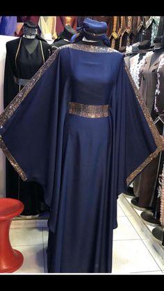 Modern Hijab Fashion, Islamic Fashion, Abaya Fashion, Muslim Fashion, Moroccan Kaftan Dress, Kaftan Gown, Abaya Designs Latest, Mode Abaya, Muslim Dress