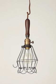 This is just one of those lamps that needs an rad, old-timey incandescent light bulb instead of a CFL. At least until they can get CFL ones looking as cool as the old-timey incandescents.