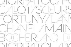 sevigne, from youworkforthem. geometric and gorgeous and surprisingly readable. love the ligatures best. from $39.99
