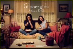 What Time Does 'Gilmore Girls: A Year in the Life' Premiere on Netflix?