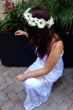 Hairflowers flowers theskinnyvasellc theskinnyvase chans silk every girl deserves to feel like a princess no matter what the age is crown mightylinksfo