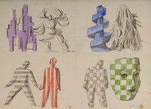 Xanti Schawinsky: studies 2/3