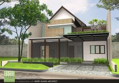 Residential - Sanctuary House by yudho patrianto at Coroflot.com