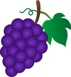grape with vine leaf clip art wackyfood pinterest clip art rh pinterest co uk clip art grapes black and white clip art grape colored flowers