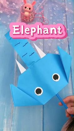Paper Crafts Origami, Paper Crafts For Kids, Easy Crafts For Kids, Craft Activities For Kids, Toddler Crafts, Preschool Crafts, Fun Crafts, Art For Kids, Recycled Crafts Kids