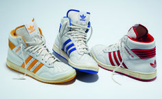 3 Colorways of the adidas Originals Pro Conference Hi - I had a pair of red and blue ones :) LOVE