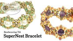 Beadweaving - SuperNest Bracelet