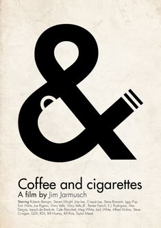 Coffee & Cigarettes - Poster - Victor Hertz
