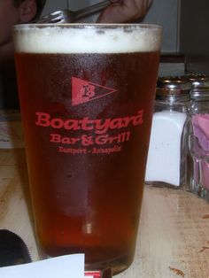 Boatyard Bar and Grill in Annapolis, MD.