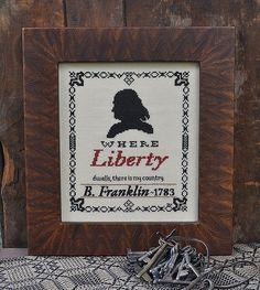 Ben Franklin~ Liberty
