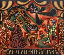 Cafe caliente Juliana - Latin American Painting by Carlos Luna