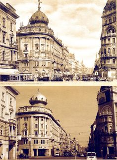 Blaha Lujza tér, yesterday and today, 1896 and 2011