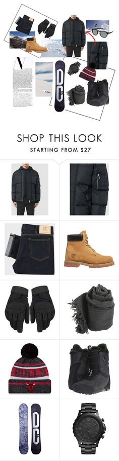 """For Men"" by drvenkar ❤ liked on Polyvore featuring AllSaints, Timberland, Faliero Sarti, New Era, Burton, DC Shoes, FOSSIL, Oakley, men's fashion and menswear"
