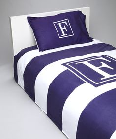Custom Personaized Twin Duvet with Pillowcase by TickledPinkNOLA, $165.00