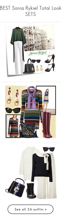 """""""BEST Sonia Rykiel Total Look SETS"""" by spells-and-skulls ❤ liked on Polyvore featuring contest, Post-It, Sonia Rykiel, soniarykiel, Lancôme, polyvoreeditorial, totalblack, SONIA, WALL and Sonia by Sonia Rykiel"""