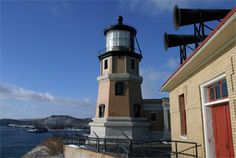 Split Rock Lighthouse, Minnesota at Lighthousefriends.com