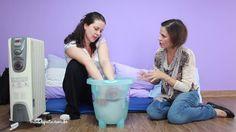 Banho de balde  - como dar no seu bebê