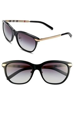 92fd2388c4 Burberry+57mm+Sunglasses+available+at+ Nordstrom