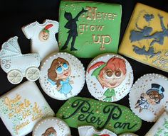 Peter Pan Cookies. We're so excited about the Music Circus production of PETER PAN at the Wells Fargo Pavilion July 21 - 26, 2015. For tickets and info: http://www.californiamusicaltheatre.com/events/peterpan/