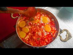BU MENEMEN İÇİN DENİZLİ 'YE GELECEKSİN - Yemek Videoları - YouTube Egg Recipes, Brunch, Appetizers, Tasty, Breakfast, Ethnic Recipes, Youtube, Food, Kitchens