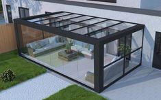 Highline CUBE | Verasol Patio Gazebo, Patio Roof, Backyard Patio, House Extension Design, House Design, Rooftop Terrace Design, Covered Patio Design, Garden Room Extensions, Home Design Software