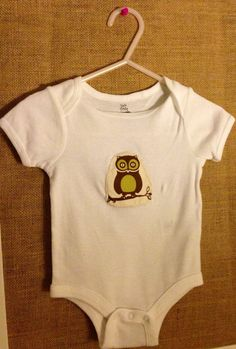 Owl onesie on Etsy, $9.99