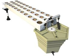 The AeroFlo2 30 site aeroponic system offers 30 plant sites in a compact size.