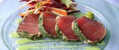 Tuna Carpaccio - gorgeous starter