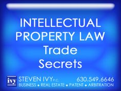 TRADE SECRETS -- A trade secret may consist of any invention, from formula, physical device to a unique process. It could belong to a large corporation or to an individual. Trade secrets are not registered with the government, they simply represent information that owners desire to keep confidential. Consequently, unlike other forms of intellectual property such as patents, copyrights and trademarks, trade secret is a self-implemented intellectual property protection.